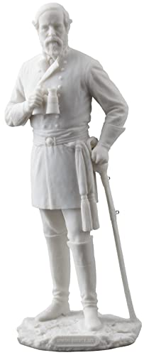 Robert E. Lee Standing Statue Sculpture Civil War