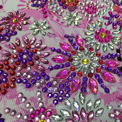 AliveGOT 5D Diamond Painting Full Drill Special Shaped Diamond Painting DIY Partial Drill Cross Stitch Kits Crystal Rhinestone Art Craft