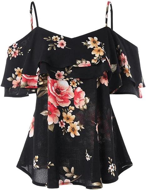 Womens Crochet Lace Shoulder Blossom Floral Vest Tunic Top Plus Sizes 10 to 20