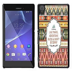 Dragon Case - FOR Sony Xperia T3 - Tell me you are mine - Caja protectora de pl??stico duro de la cubierta Dise?¡Ào Slim Fit
