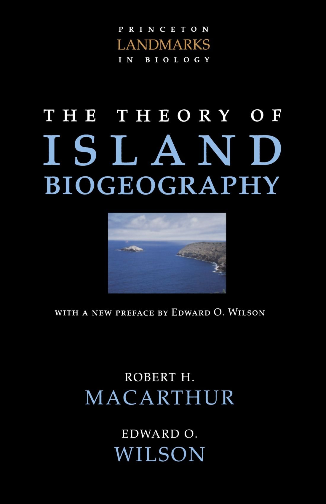 the-theory-of-island-biogeography-princeton-landmarks-in-biology