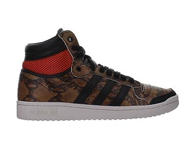 Adidas Originals Top Ten Hi Black White Python Snakeskin Mens 8.5