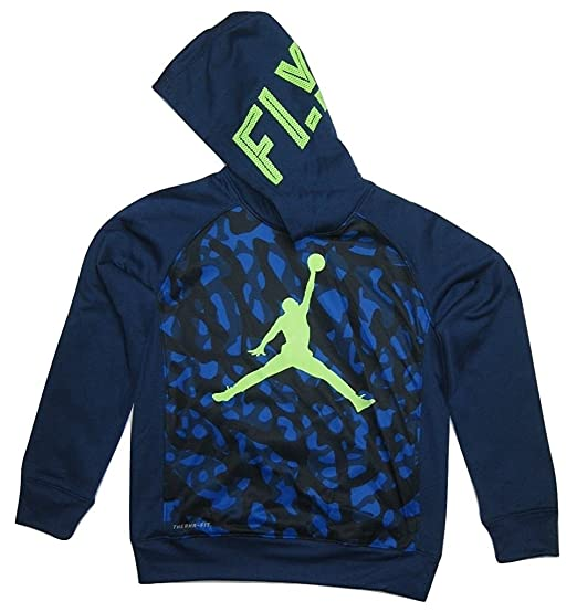 bbfcdc292b0b Amazon.com  Jordan Youth Boys Jumpman Camo Elephant Pullover Hoodie ...