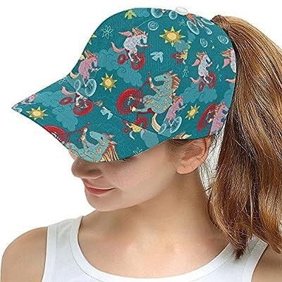 Cute Cartoon Horse Pattern Print Snapback Hat Baseball Cap by Lumos3DPrint