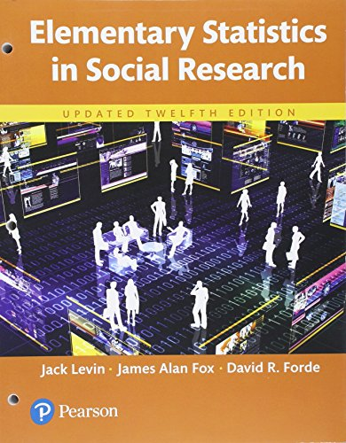 Book cover from Elementary Statistics in Social Research, Updated Edition -- Books a la Carte (12th Edition) by Jack Levin