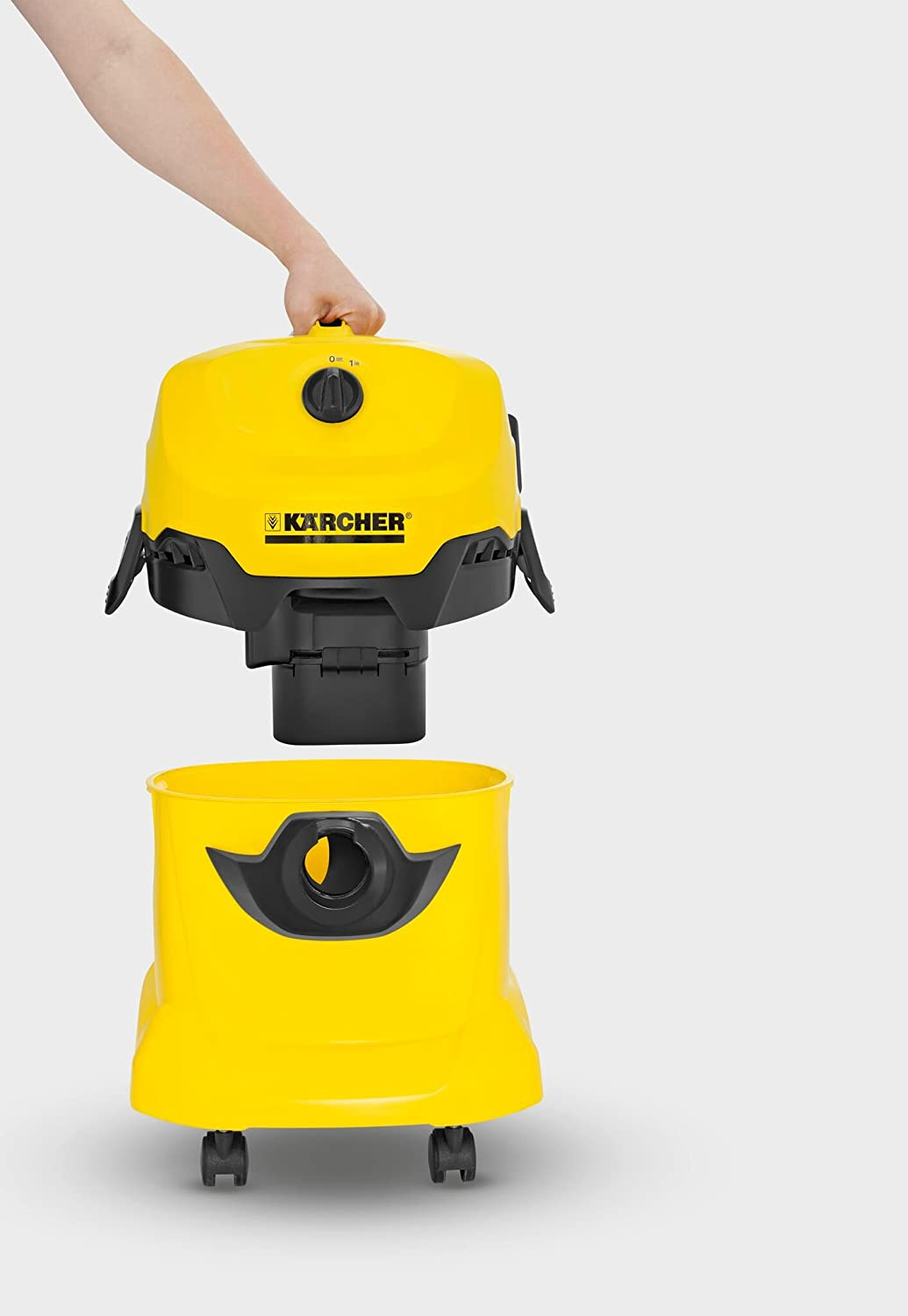 Amazon.com: Karcher WD 4 Wet and Dry Vacuum Cleaner: Kitchen ...