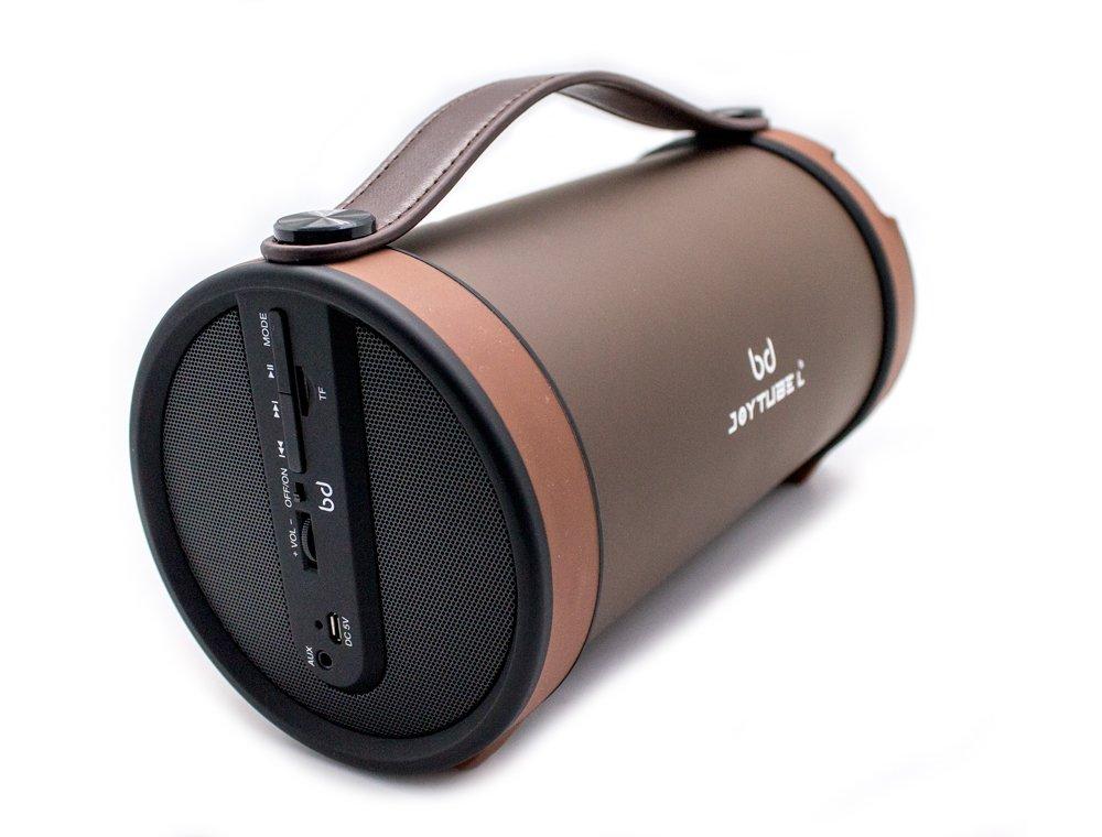 Biwond 51866 - Altavoz Bluetooth, Color marrón