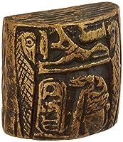 Siro Designs SD100-136 Egyptian Knob, 1.36-Inch, Antique Brass