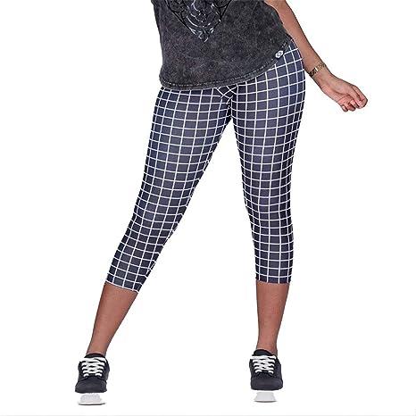 Mujer Leggins Desportivos, Pantalones de yoga de cintura ...