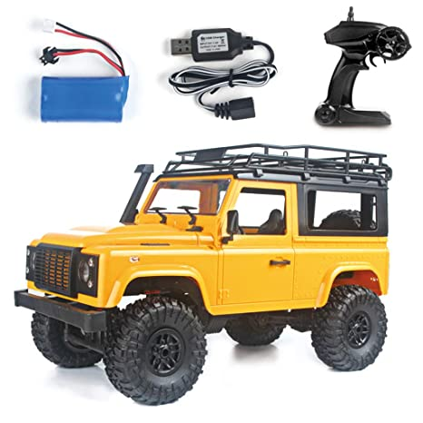 SMALLJUN RC Cars, 1/12 RC Rock Crawler D90 2.4G 4Wd Control ...