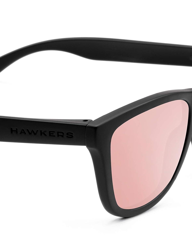 Hawkers One Occhiali da Sole Rosa Negro 5 Unisex-Adulto