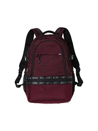 feb5bc970af Image Unavailable. Image not available for. Color  Victoria s Secret PINK  Collegiate Backpack ...