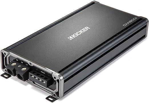 Kicker CX Serie cx1800.1 1800 W Mono clase D amplificador Mosfet de rango de
