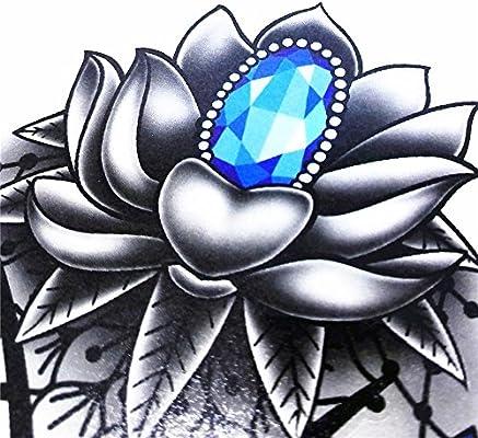 LZC Sensual Tatuaje Temporal Grande Mujer al Costado Debajo de los ...