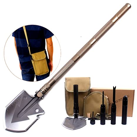 Multi - funcional pala azada incluir cuchillo sierra corte cuerda ...