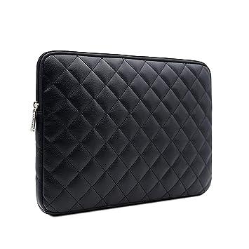 RAINYEAR - Funda Blanda Acolchada para Ordenador portátil MacBook Notebook Tablet Ultrabook Chromebook de HP DELL