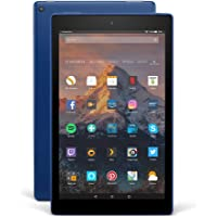 Fire HD 10-Tablet mit Alexa Hands-free, 25,65 cm (10,1 Zoll) 1080p Full HD-Display, 32 GB, Blau, mit Spezialangeboten