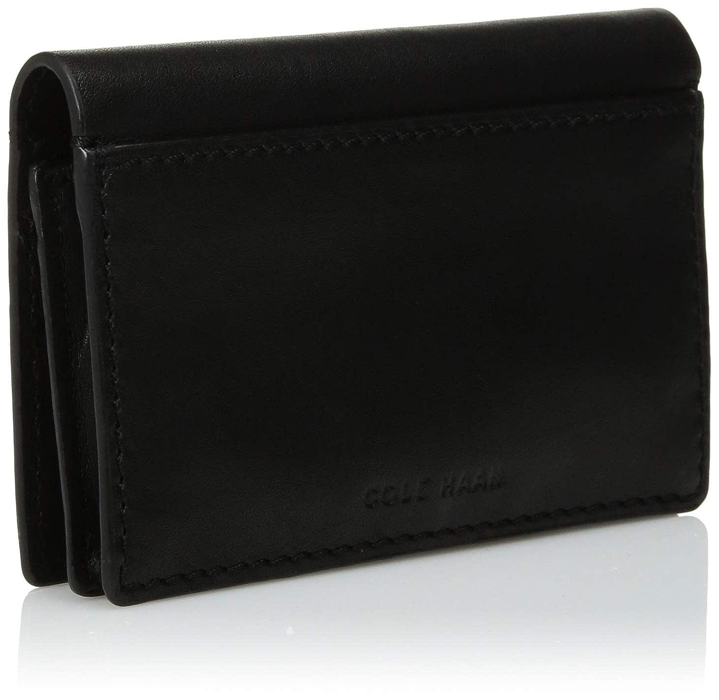 sports shoes 252dd 06eed Cole Haan Men's Washington Grand Business Card CASE Wallet, black No ...