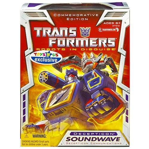Hasbro Transformer Generation 1 Re-issue Exclusive Soundw...