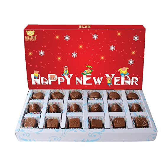 bogatchi new year gift chocolates bogatchi happy new year box