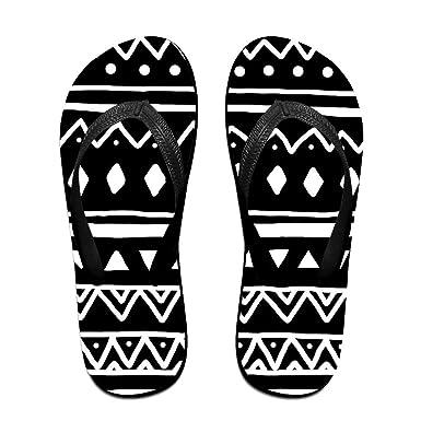 Amazon.com: Couple Slipper Tribal Aztec Colorful Pattern ...