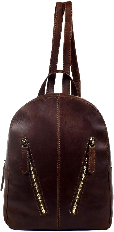 Genuine Leather Mini Backpack School College Daypack Shoulder Bag A/&Z style 181030 Angela N Zaira