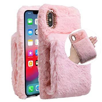 coque iphone x poilu