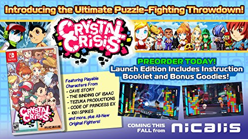 Crystal Crisis – Nintendo Switch