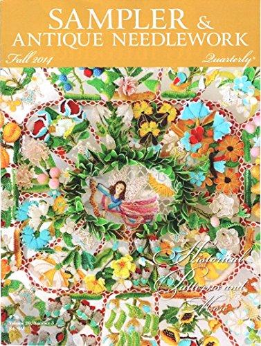 Sampler & Antique Needlework Quarterly Fall 2014 #76 Volume 20 Number 3