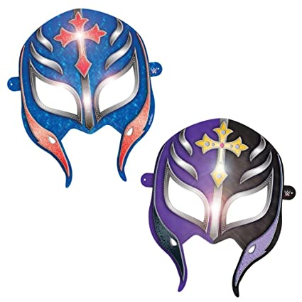 Amscan WWEParty Paper Masks, Party Favor