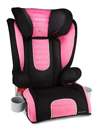 Amazon.com : Diono Monterey Booster Seat, Pink (Discontinued by ...
