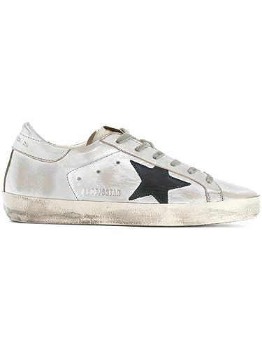 Golden Goose Damen G32ws590g34 Silber Leder Sneakers  Amazon.de ... 01f0610740