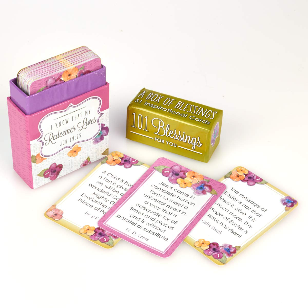 101 Blessings for You Devotional Cards - A Box of Blessings: Christian Art  Gifts: 6006937125315: Amazon.com: Books