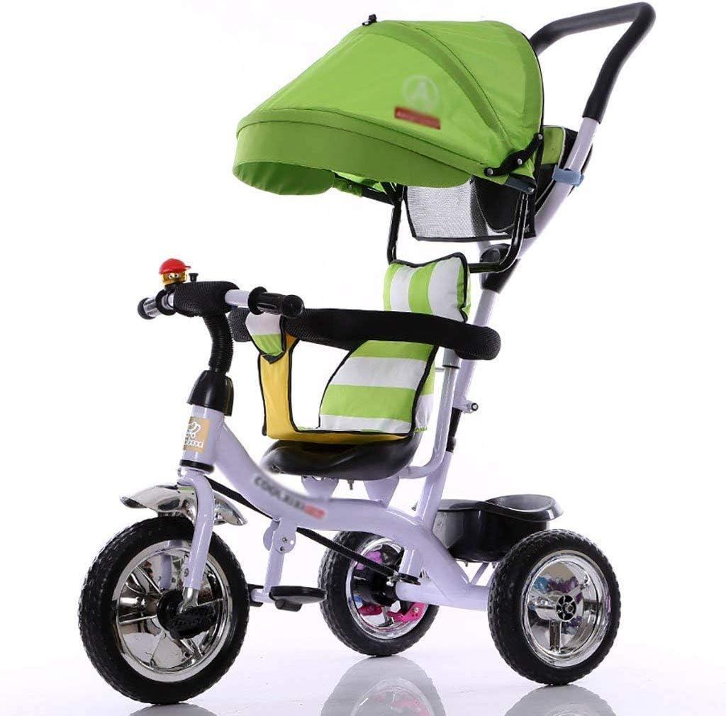 8ヶ月の子供のためのベビーカーバイク - 、オーニングゴム包帯と6歳、(色:A) APcjerp (Color : A)