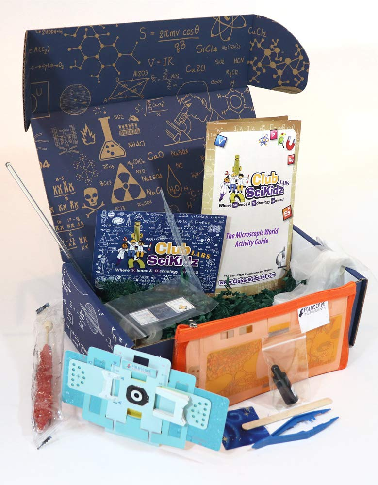Club SciKidz STEM Box The Microscopic World by Club SciKidz