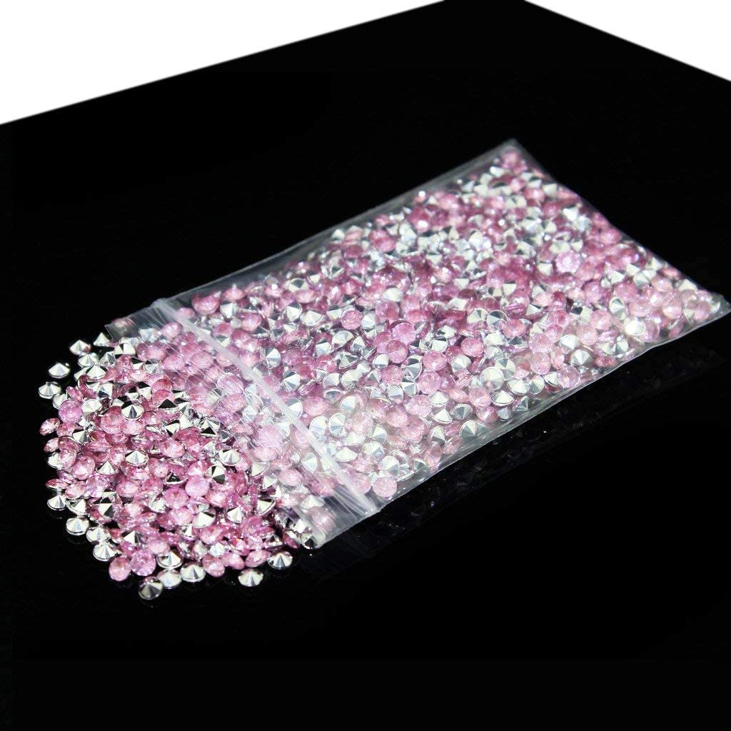 BITFLY Acrylique Diamants de d/écoration Mariage f/ête Anniversaire avec Cristaux d/écoratifs Pot Decoration Fleur Fish Tank Decor Jardin