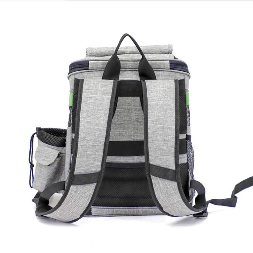 Multi-Function Pet Bag Adjustable Shoulder Strap Thickening Handle Hiking (Color : C) by Pet Supplies (Image #3)