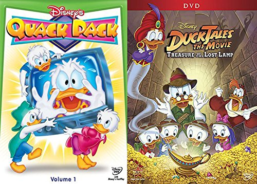 Disney DuckTales The Movie & Donald Duck Quack Pack Vol. 1 DVD Animated Series Set THE TREASURE OF THE LOST LAMP Disney Treasures Donald Duck