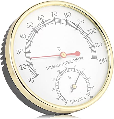 Digital Hygrometer Innenthermometer Feuchtigkeit Monitor Messgerät Für Sauna Haus Büro Gewächshaus Küche Haushalt