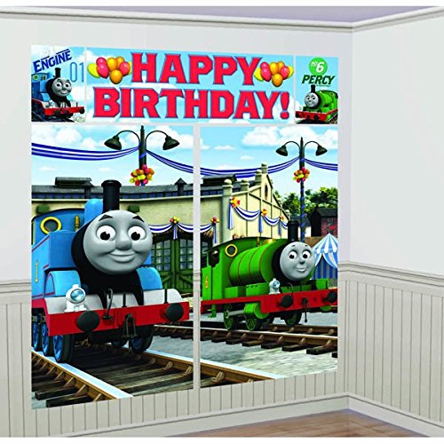 Thomas the Tank Scene Setter (Thomas The Tank Birthday)