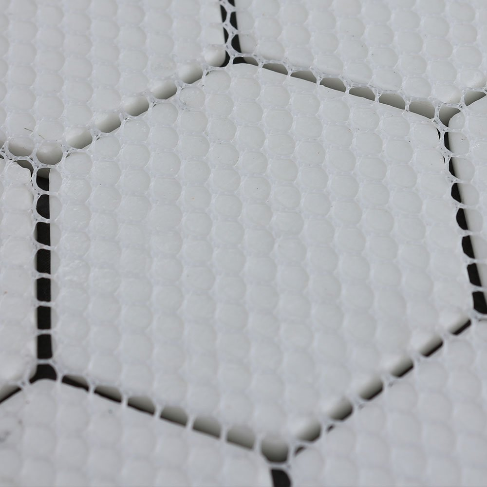 Mosaic Tile, Youway Style Hexagon Glass Tile Mosaic, Carrara White Marble Look Tile for Home, Bathroom Wall, Floor Decoration 12''x 12'' per sheet(6 sheets/unit)