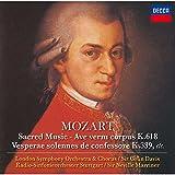 Sir Colin Davis - Mozart: Ave Verum Corpus [Japan CD] UCCD-90055