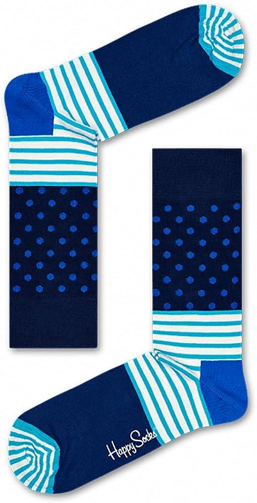 Happy Socks Men's Stripes & Dots Socks