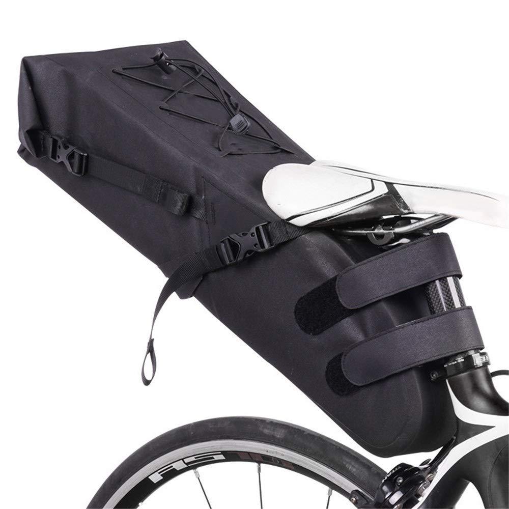 Techecho マウンテンバイク リアシート 防水バッグ 自転車アクセサリーキット 自転車テールバッグ バイクストレージバッグ   B07HYWZPK9