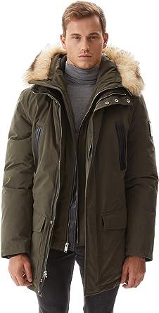 2020 Winter Warm 90/% Duck Down Hooded Ski Thicken Mens Jacket Coat Puffer Parkas