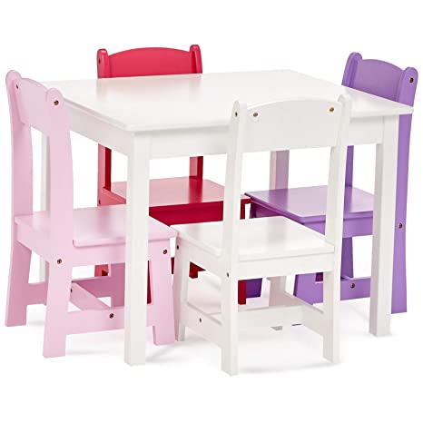 Amazon.com: Phoenix Home AVH072010 - Mesa y silla infantil ...