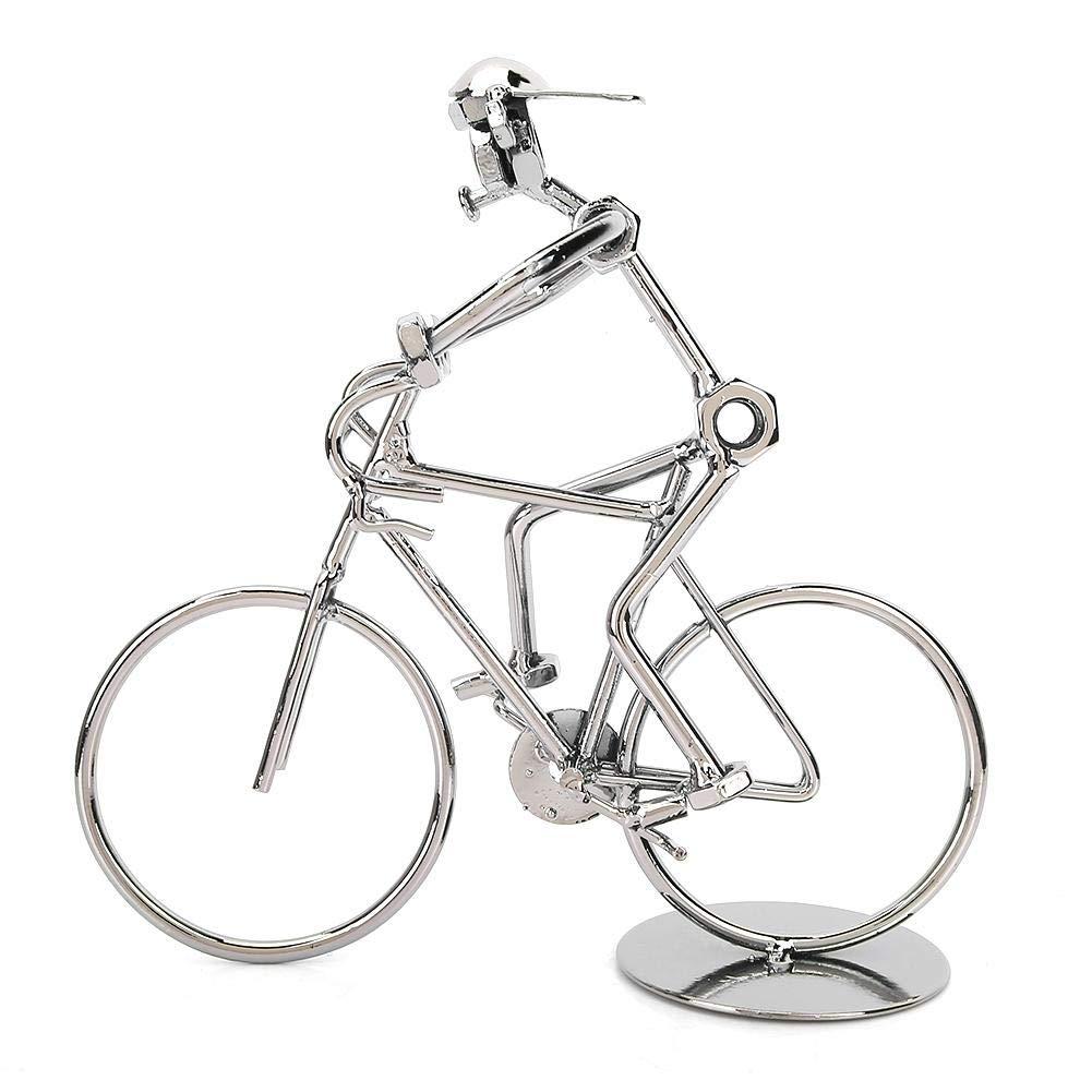 HEEPDD Adornos de Bicicleta Vintage extra/ño Modelo de Jinete de Iron Man Metal Bicicleta Bicicleta hogar decoraci/ón de Escritorio Adornos Regalos