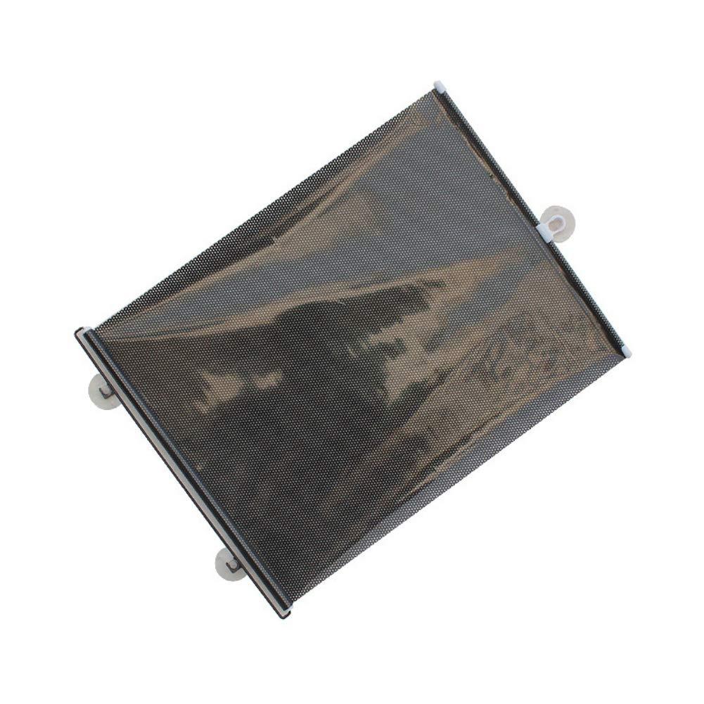 Car Window Sunshades Car Sun Shade Roller Retractable Sunshade Car Windshield Sun Shade Blocks Universal Roller Blind in Summer 1pc Shiny Type