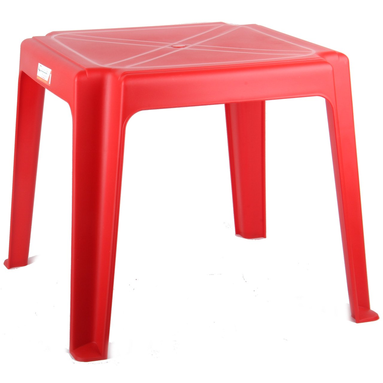 Comfort Time Kids Children Plastic Table Stackable Strong Suitable For Outdoor (Pink)