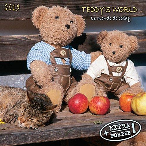 Teddy's World 2019: Kalender 2019 (Artwork Edition) (Englisch) Kalender – 15. Mai 2018 Tushita 3960137419 Antiquitäten / Spielzeug Puppen
